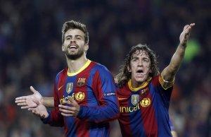 Gerard Piqué i Carles Puyol són la millor parella de centrals de la història del Barça