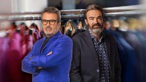 Imatge de Xavier Sala-i-Martin i Tian Riba, presentadors d''Economia en Colors'.