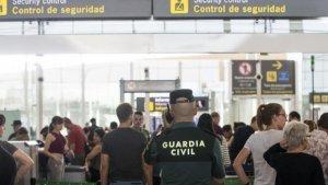 La Guàrdia Civil, a l'aeroport