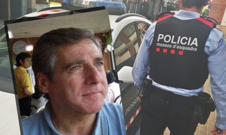 Imatge de Martorell, de la fitxa policial que ha servit per enxampar-lo.