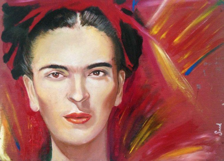 Retrat de Frida Kahlo