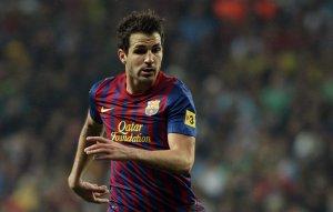 Cesc Fàbregas, amb el Barça