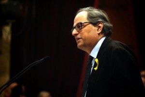 Quim Torra, el 131è president de la Generalitat, al Parlament de Catalunya.