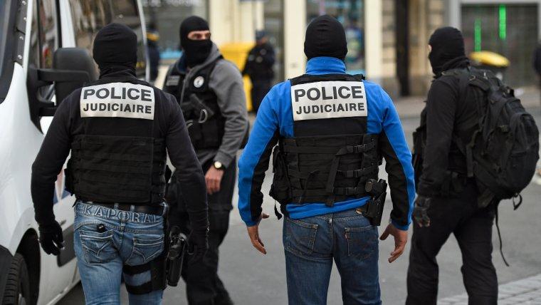 Imatge d'arxiu d'agents de la policia francesa.