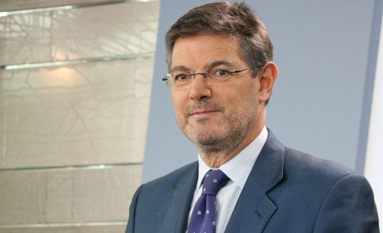El ministro de Justicia, Rafael Catalá