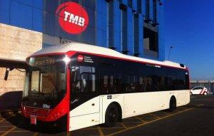 Imatge d'arxiu d'un autobús del TMB