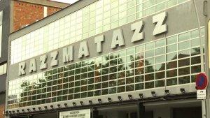 Imatge de la sala Razzmatazz, des de l'exterior, on hi es va produir la suposada agressió.