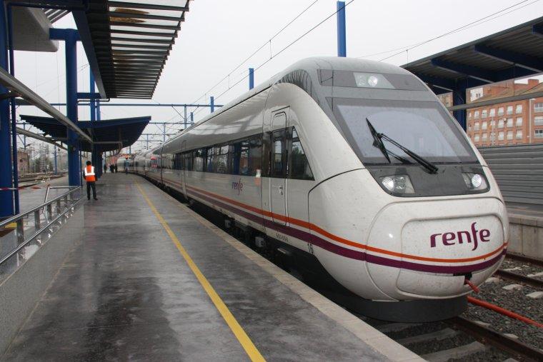 Imatge d'arxiu d'un tren d'Avant