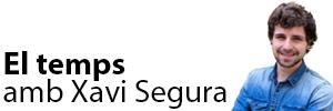 El temps amb Xavi Segura
