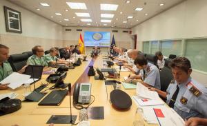 Imatge d'arxiu d'una reunió de la mesa del CITCO, a Madrid.