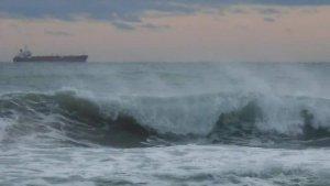 El mar estarà molt alterat aquest dimecres