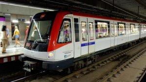 Metro de Barcelona, en una imatge d'arxiu
