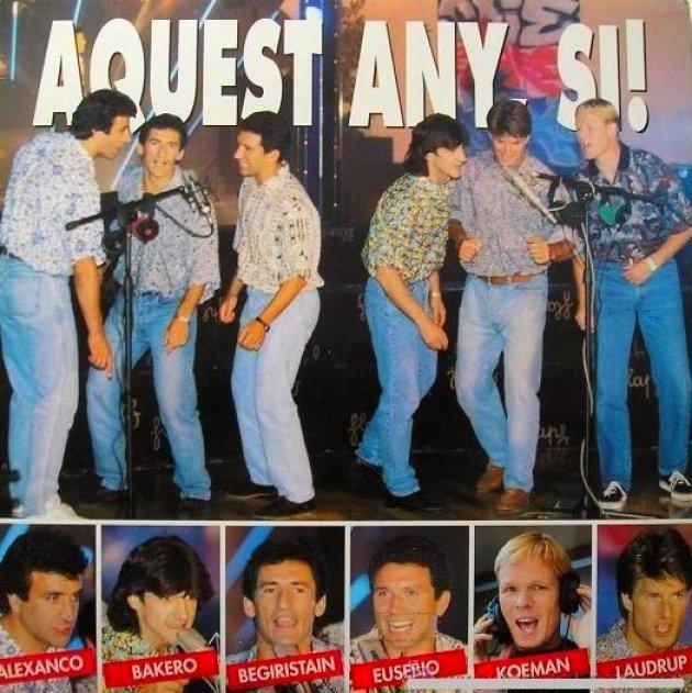 'Aquest any sí!' amb el 'Dream Team' del Barça, anys 90