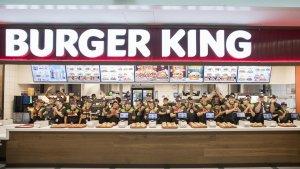Imatge del nou Burger King de l'Aeroport del Prat