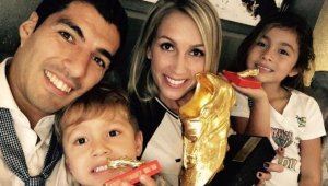 Luis Suárez ha estat pare per tercera vegada