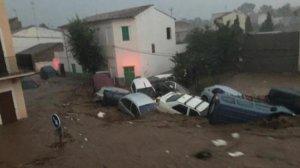 Més imatges de l'aiguat a Mallorca