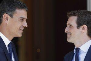 Pablo Casado creu que Pedro Sánchez arribarà a pactes amb l'independentisme