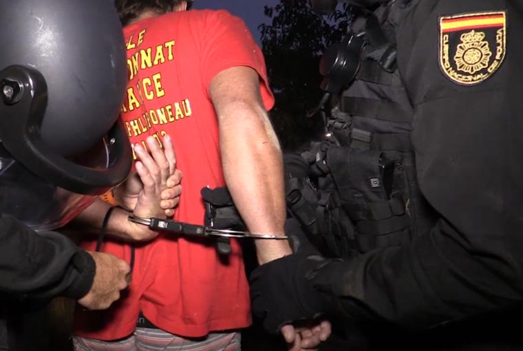 La Policia Nacional ha detingut el terrorista a Mataró.