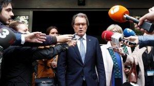 Artur Mas ha parlat d'«aberració» i «venjança» per qualificar la decisió del Tribunal de Comptes