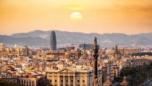 Barcelona en una imatge d'arxiu