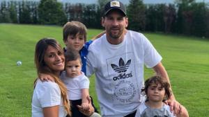 Imatge d'arxiu de la família de Leo Messi i Antonella Roccuzzo