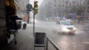La pluja està causant molts problemes aquest dijous