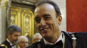 Manuel Marchena arriba al capdavant del Tribunal Suprem en un moment de màxima expectació