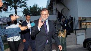 Mariano Rajoy ha conegut avui la mort del seu pare als 97 anys
