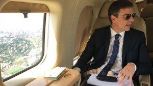 TVE ha congelat l'emissió d'un programa que parlava sobre l'avió presidencial