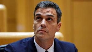 Pedro Sánchez en una imatge d'arxiu