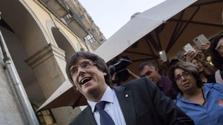 Carles Puigdemont, enxampat per Girona aquest 28 de desembre