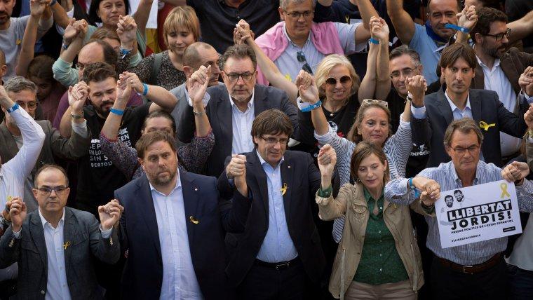 Diverses fonts asseguren que la vaga de fam és una manera de sotmetre ERC a la Crida