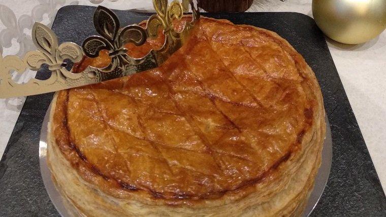 El tortell de Reis francès