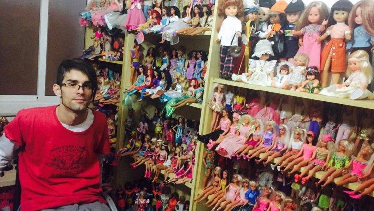 En Toni ha recuperat una mica la força i la mobilitat gràcies a les Barbies