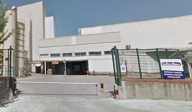 Imatge de la fàbrica de Gallina Blanca i Avecrem, a Sant Joan Despí