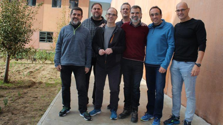 Els exconsellers presos han estat acusats de mentir sobre la vaga de fam