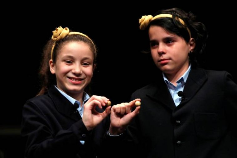 Les dues nenes que han cantat el 'Gordo' del Sorteig de Nadal 2018