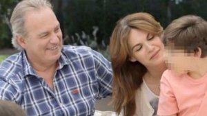 Bertin Osborne i Fabiola amb el seu fill