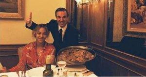 Beyoncé dina una paella de marisc al famós restaurant 'Botafumeiro' de Barcelona