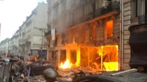 El centre de París s'ha vist afectat per una forta explosió fa tan sols uns minuts