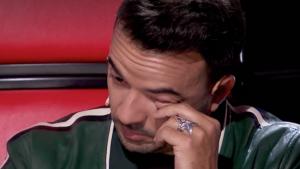 Fonsi no va poder reprimir les llàgrimes