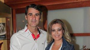 Jesulín de Ubrique i Maria José Campanario en la seva reaparició a Conca