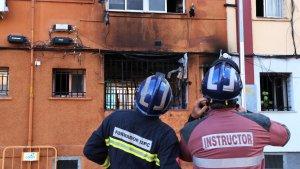 La filla d'una de les víctimes de l'incendi de Badalona ha escrit una emotiva carta