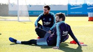 Leo Messi i Gerard Piqué