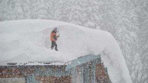 Les nevades estan sent extraordinàries al sud d'Alemanya