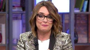 Toñi Moreno en la despedida del programa 'Viva la vida'