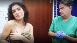 Un moment del vídeo on Miriam Saavedra explica les seves operacions