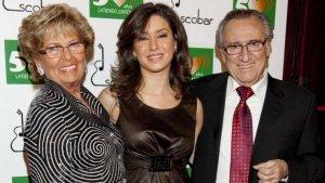 Vanessa Escobar al costat de la seva mare, Anita Marx, i del seu pare, Manolo Escobar, en una imatge d'arxiu