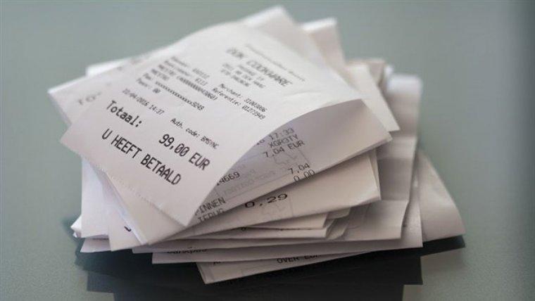 Els tiquets de compra en els quals la tinta s'esborra contenen substàncies cancerígenes