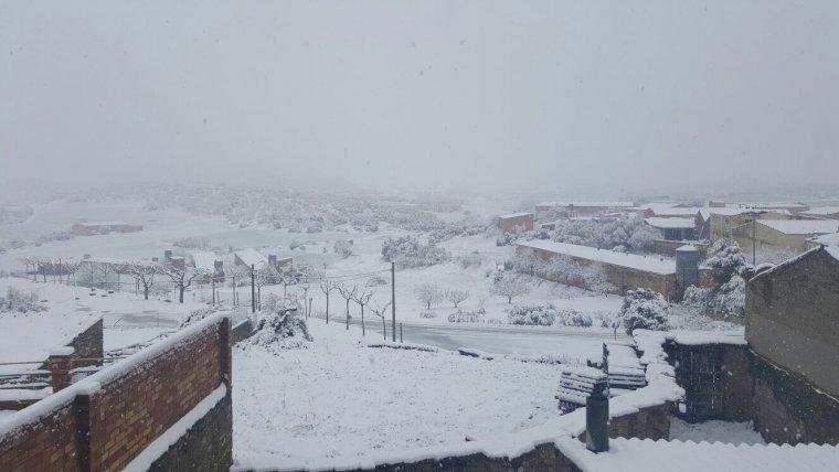 La neu pot arribar a cotes baixes de l'interior de Catalunya